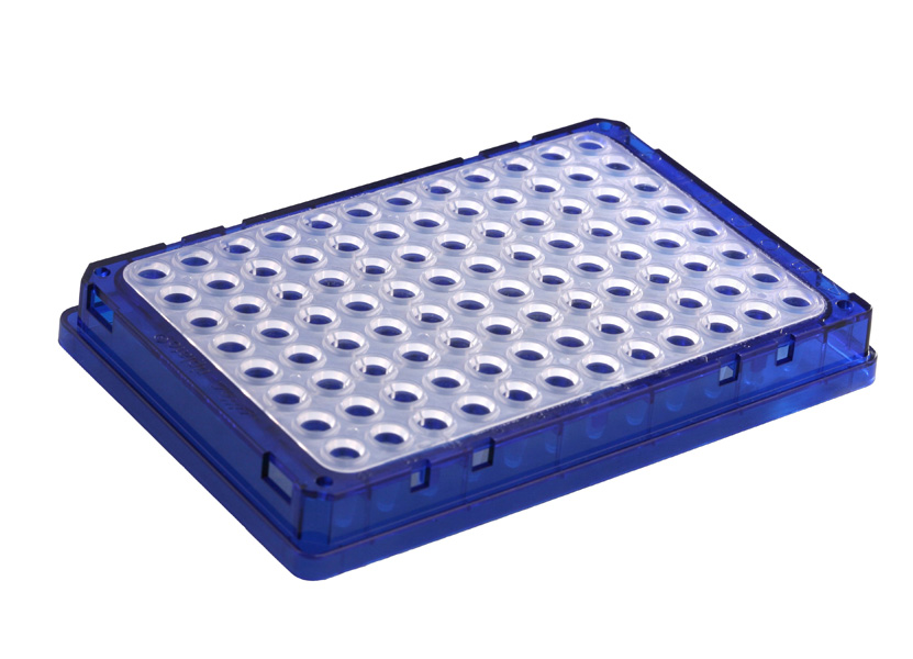 sc 1 st  Elkay Laboratory Products & riplate® 96-well skirted PCR Plate 150µl green frame/natural wells