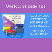 New!! OneTouch Bi-Material Pipette Tips