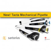 NEW! Sartorius Tacta<sup>®</sup> Pipette