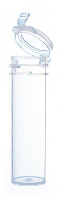 50ml VersaTube with hinged cap, non-sterile, PP